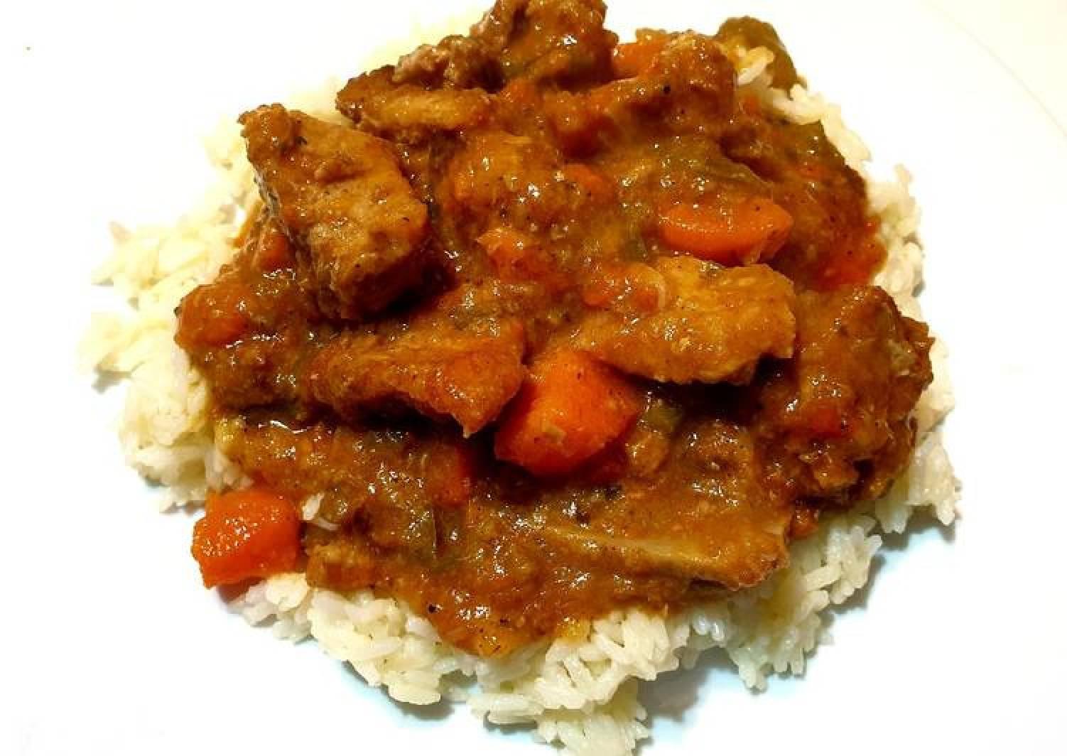 Pork and Sweet Potatoes Stew
