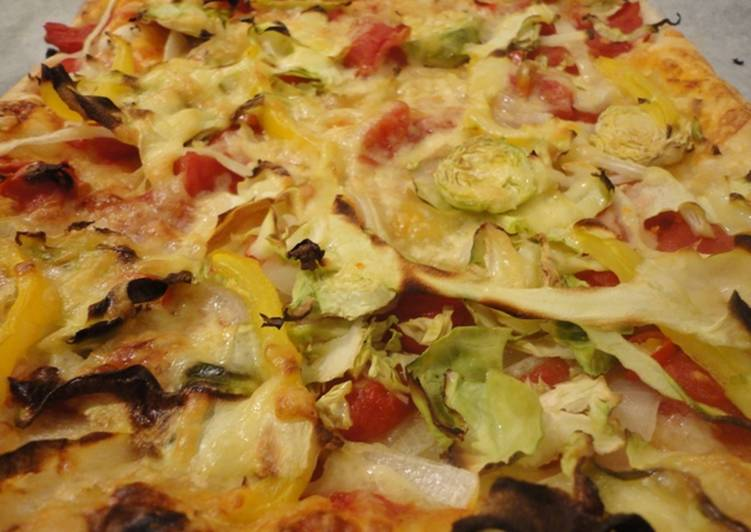 Recipe of Speedy The week night PIZZA
