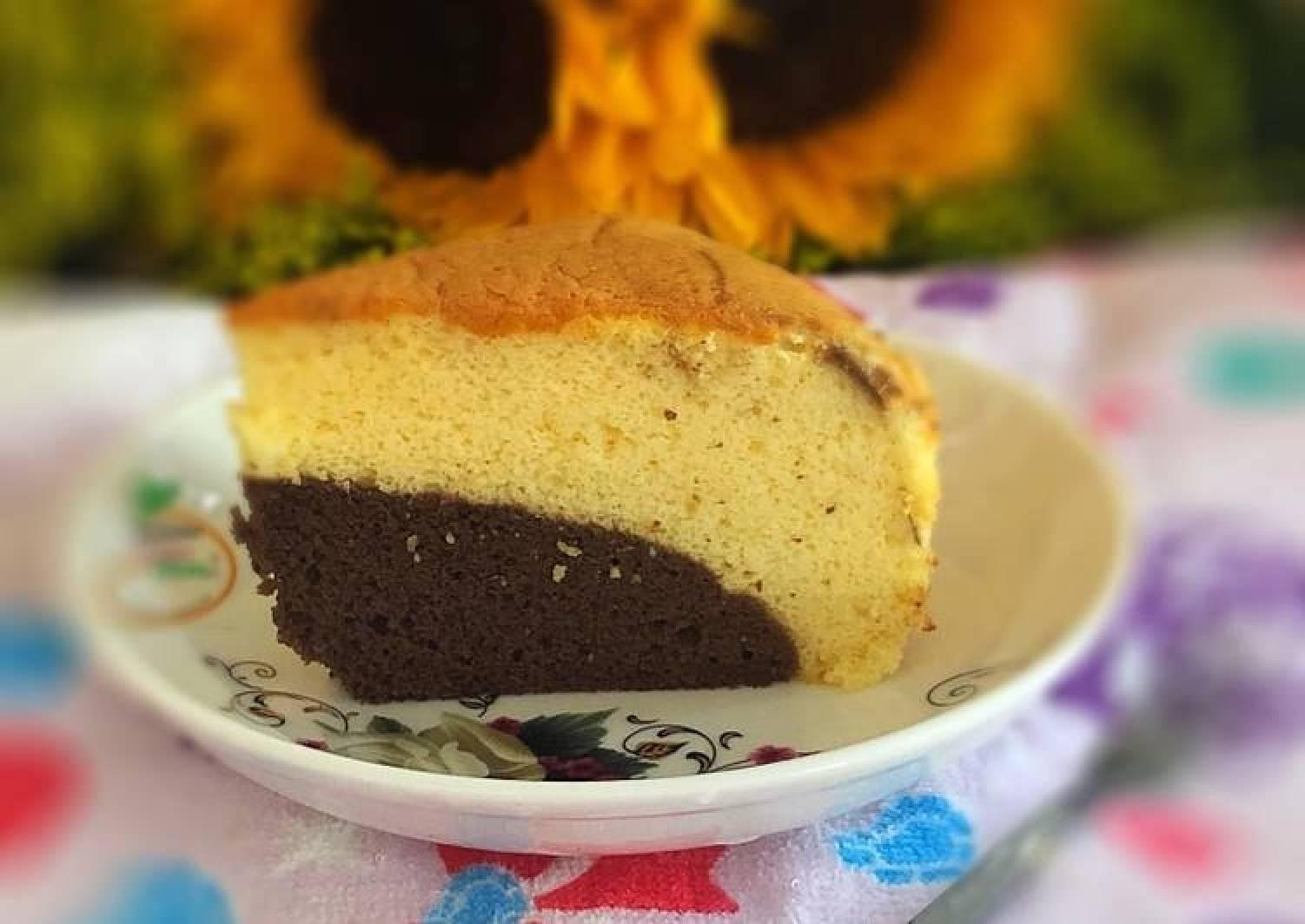 Old fashion sponge cake