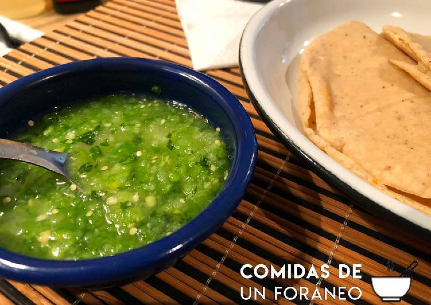 Green Sauce for Tacos