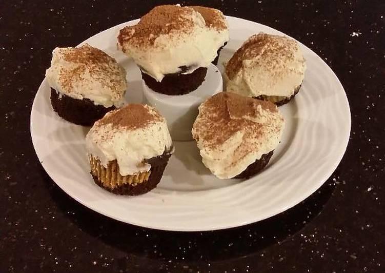Easiest Way to Prepare Super Quick Homemade Tiramisu Inspired Cupcakes