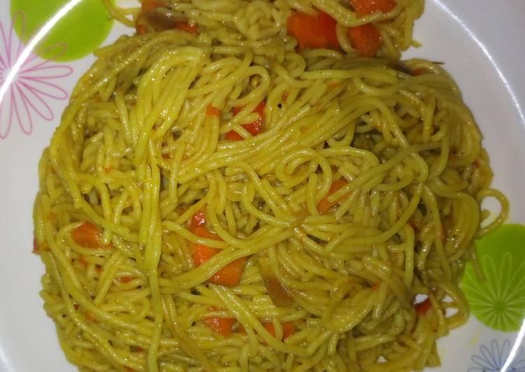 Fried spagetti