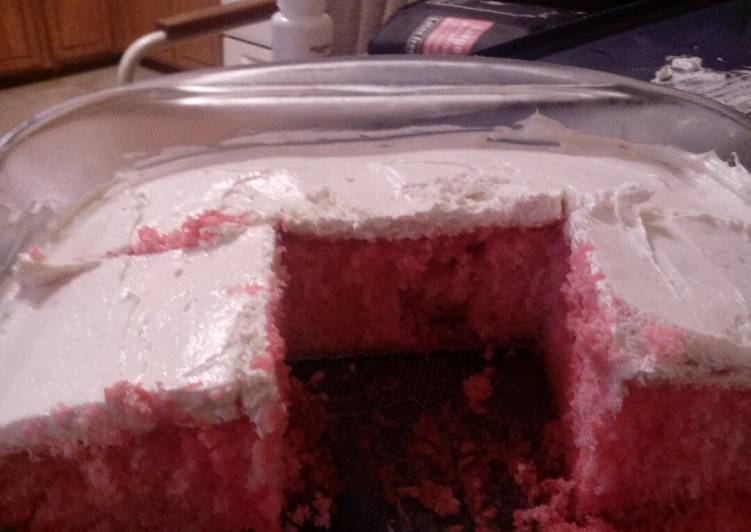 Strawberry Limeade Cake