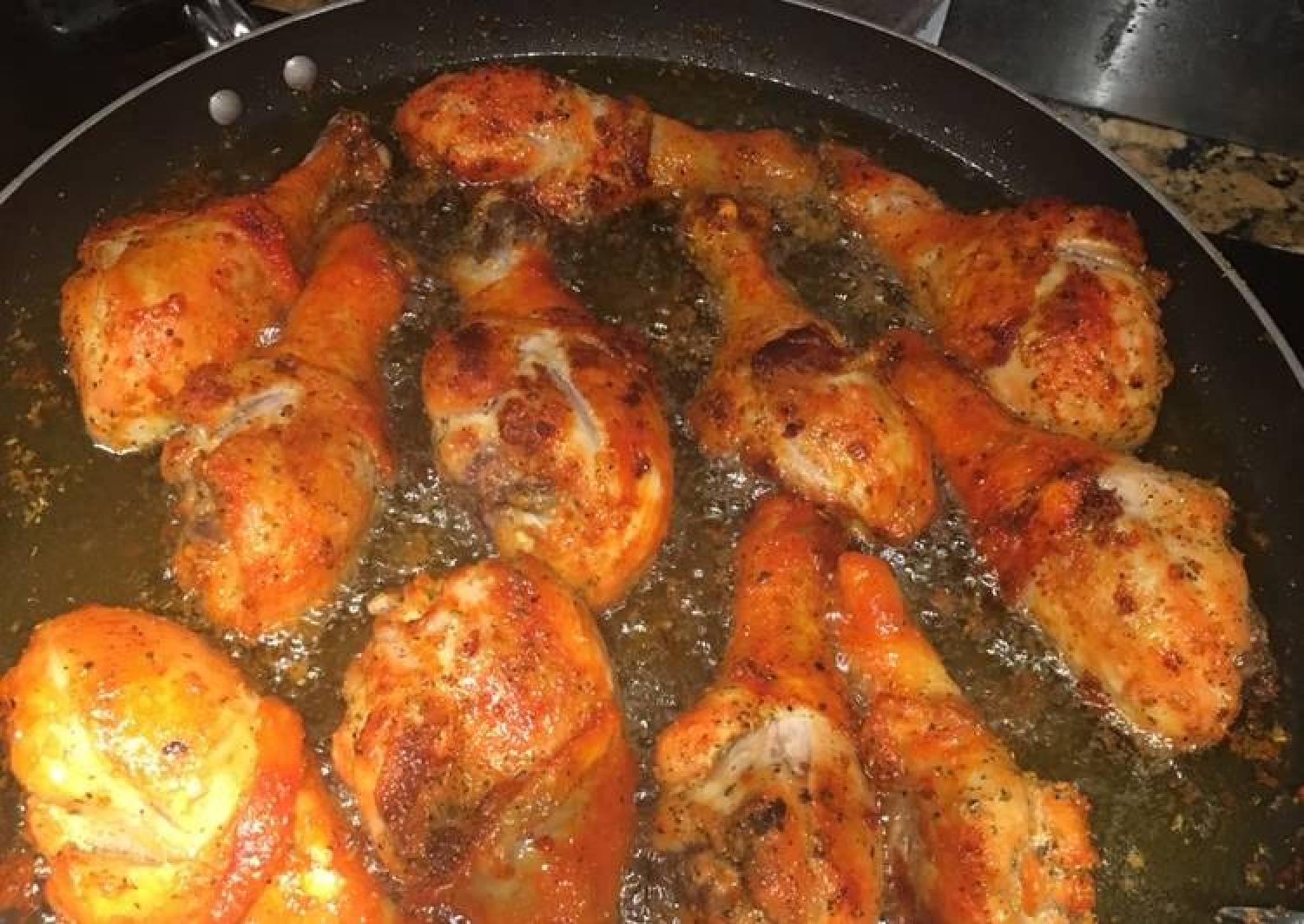 Icky Sticky Fried Chicken
