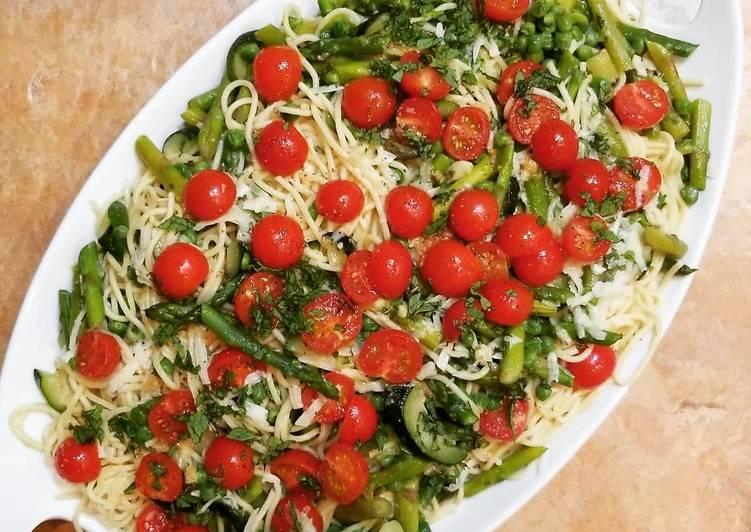 How to Prepare Favorite Garlicky Vegetable Pasta