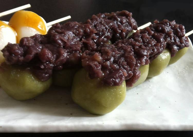 How to Prepare Speedy Matcha Dango with 'Tsubu-an'