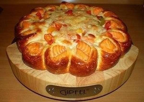 Красивый рыбный пирог - пошаговый рецепт с фото. Автор ...