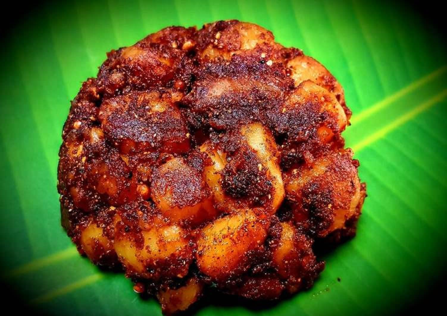 Chettinad Potato Fry