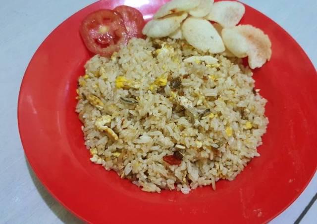 Nasi Goreng Teri Medan || Simpel dan Enak