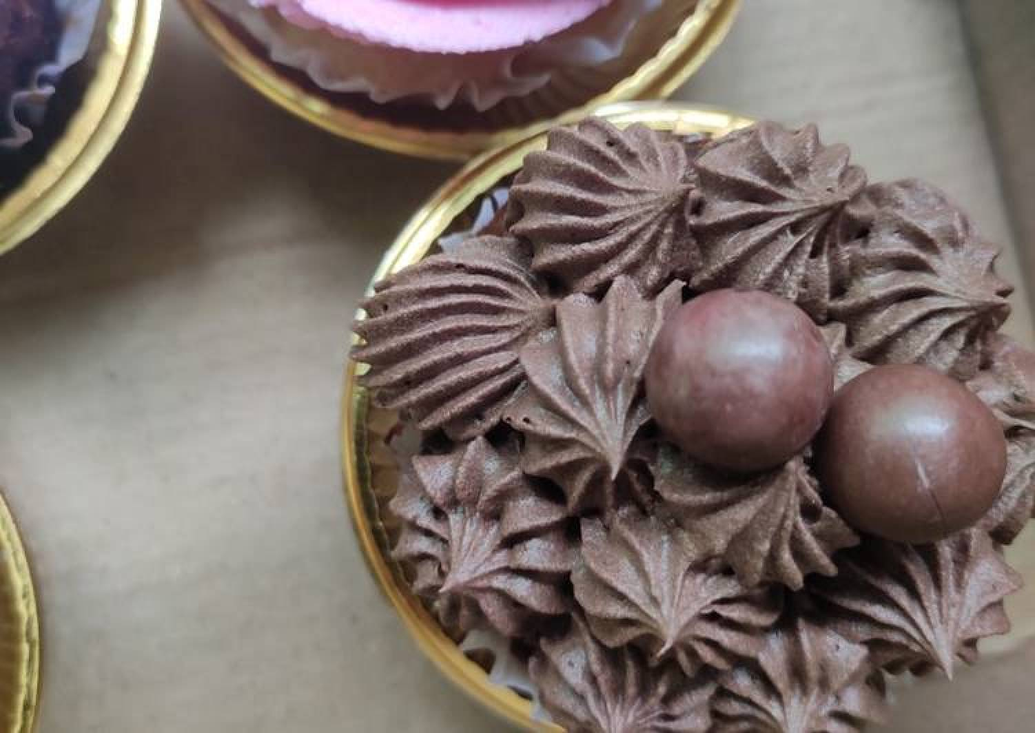 Nutella shot cupcake