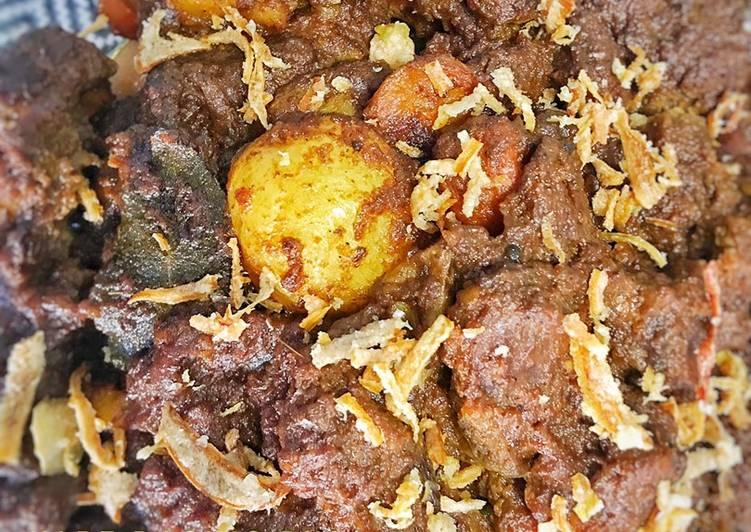 Kari daging rusa /menjangan