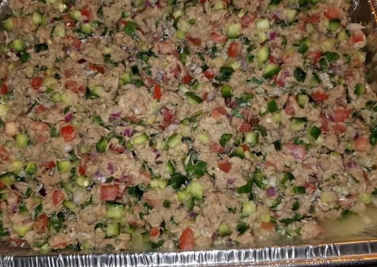 Step-by-Step Guide to Prepare Homemade Tuna Ceviche Salad