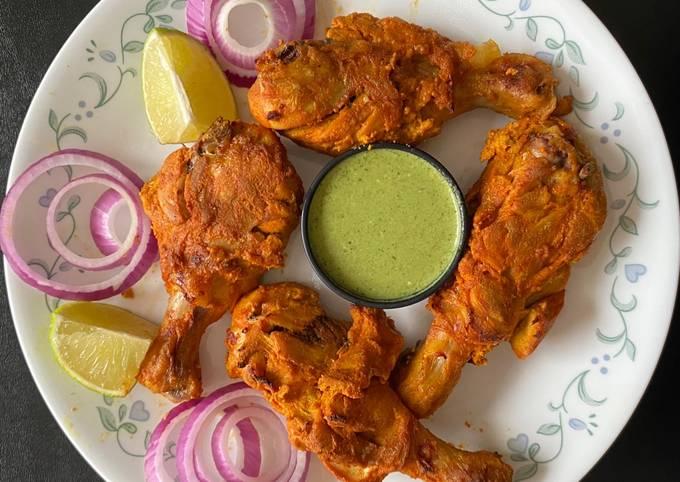 Steps to Prepare Jamie Oliver Chicken Tandoori