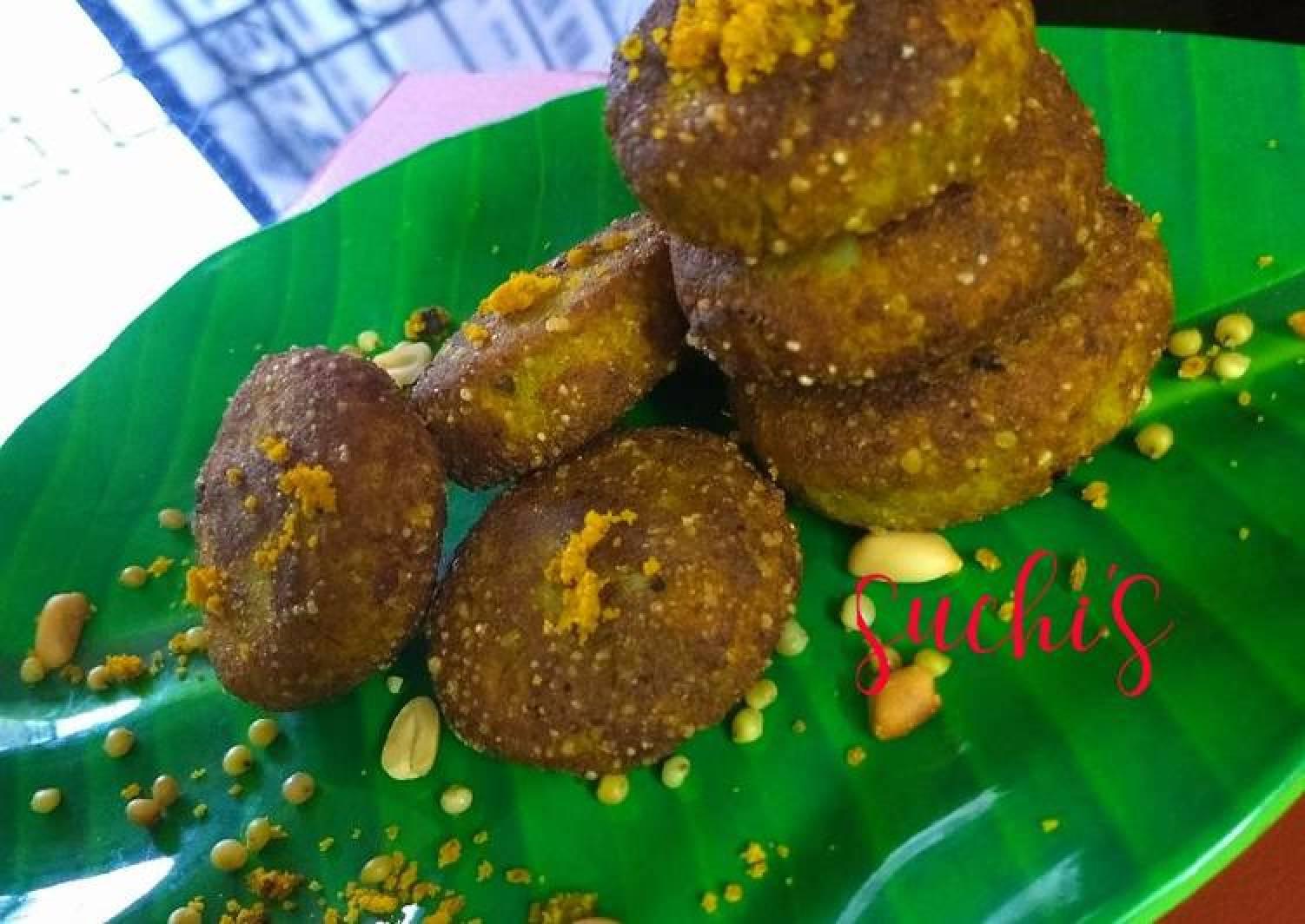 Dried Huruda and Sattu Cutlets