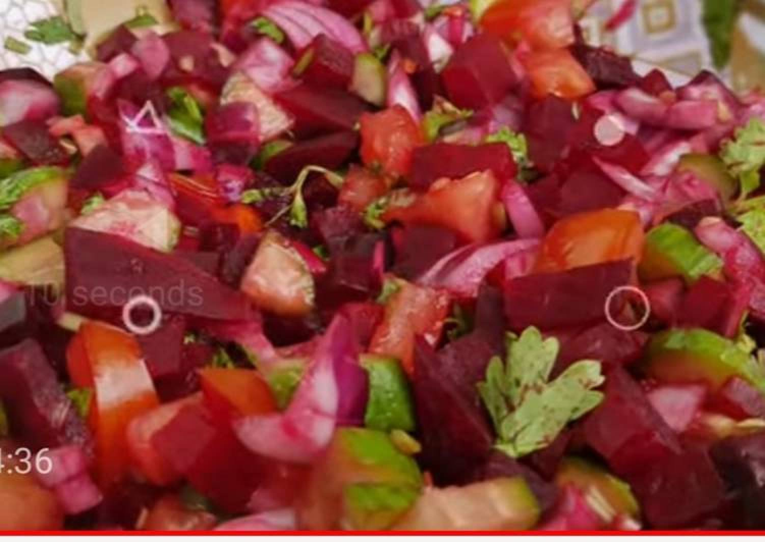 Title-beetroot salad