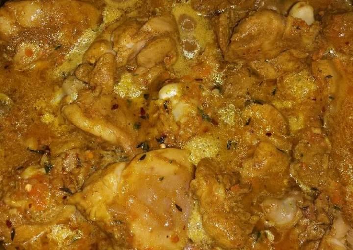 Chef Warren's Curry Chicken
