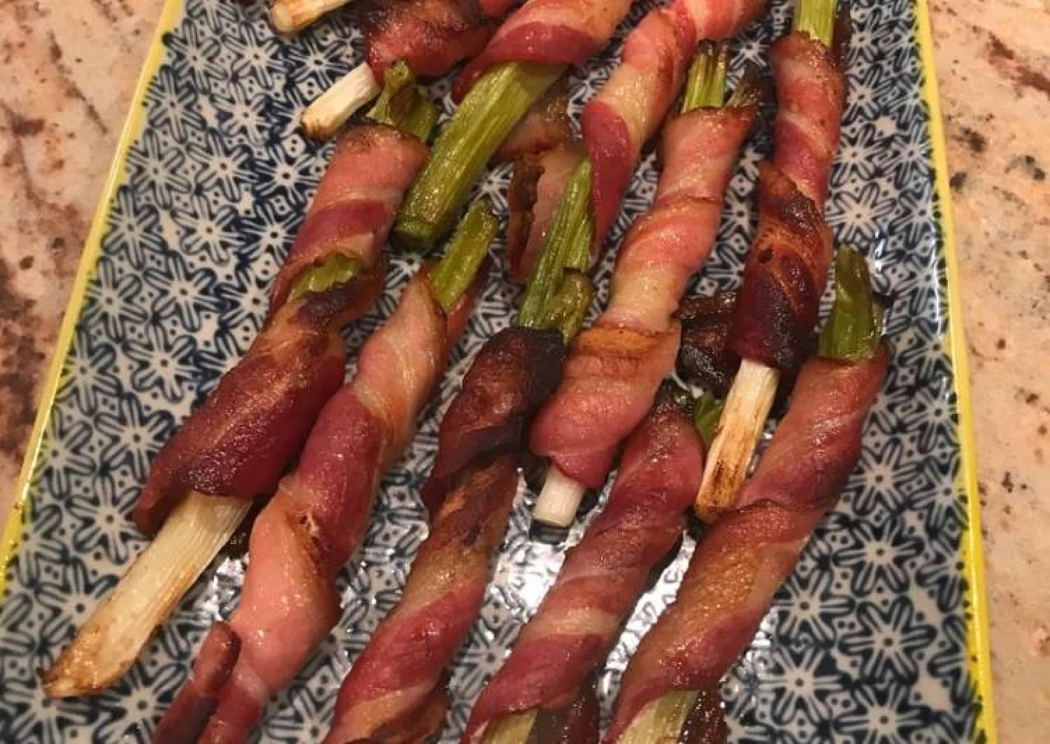 Spring onions in bacon - cipollati catanesi
