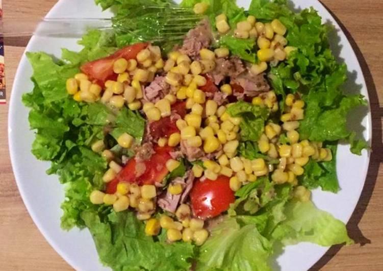 "Menu diet kenyang "" salad sayur """
