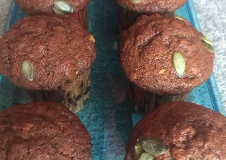 Vegan banana cupcakes (sugar free)