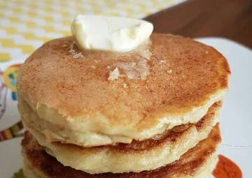 Resep Pancake low carb no sugar Paling Mudah