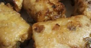 Fried khatey lotus root