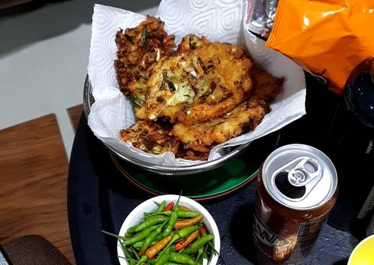 Vegetable Fritters (Bakwan Goreng)