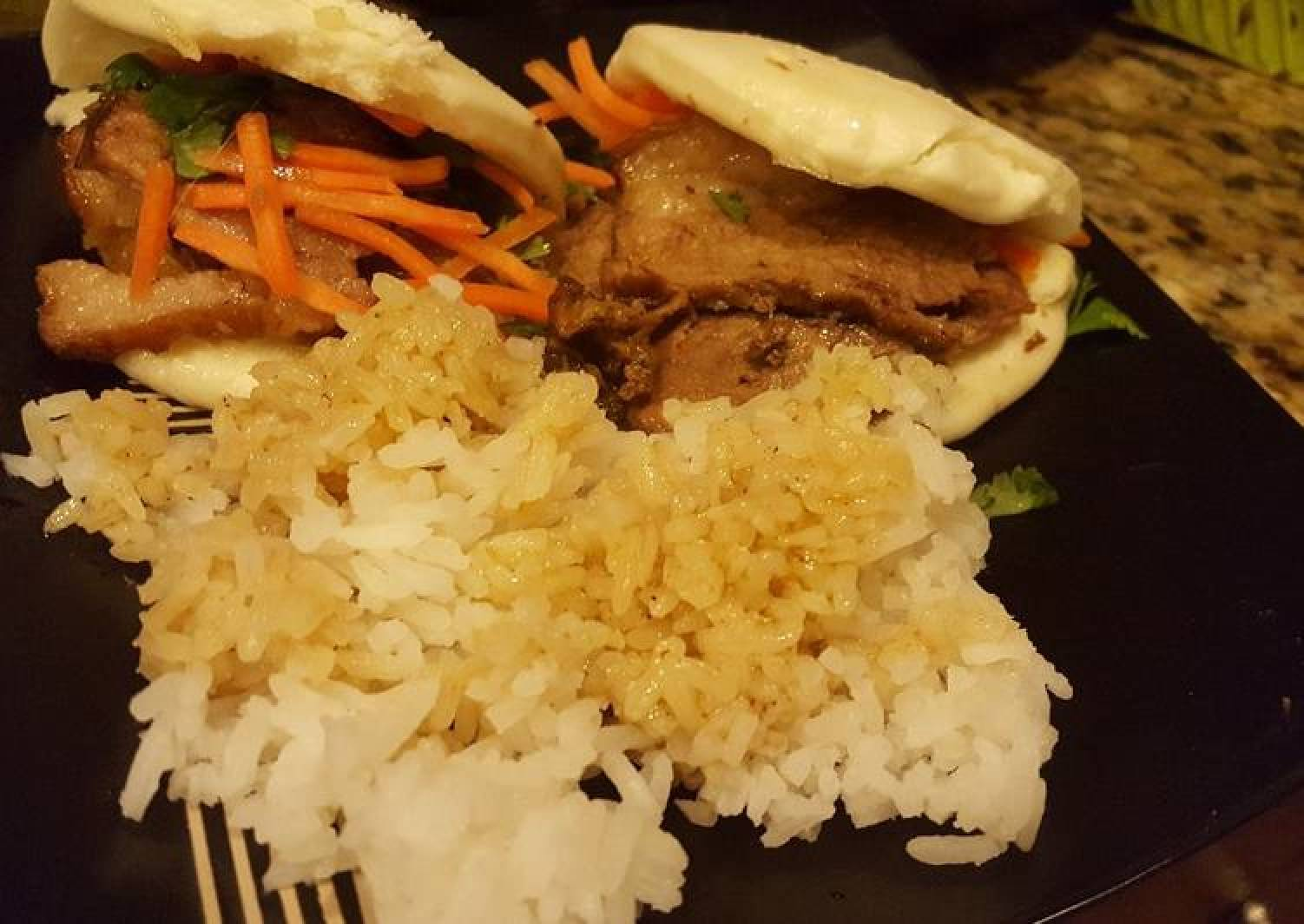 Steamed Buns with Braised Brisket