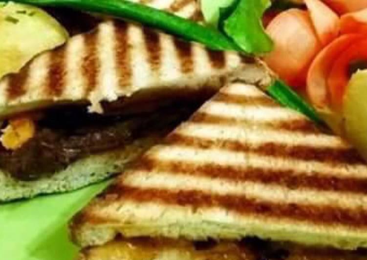 Recipe of Quick Whosayna???s Matt???s Sandwiches