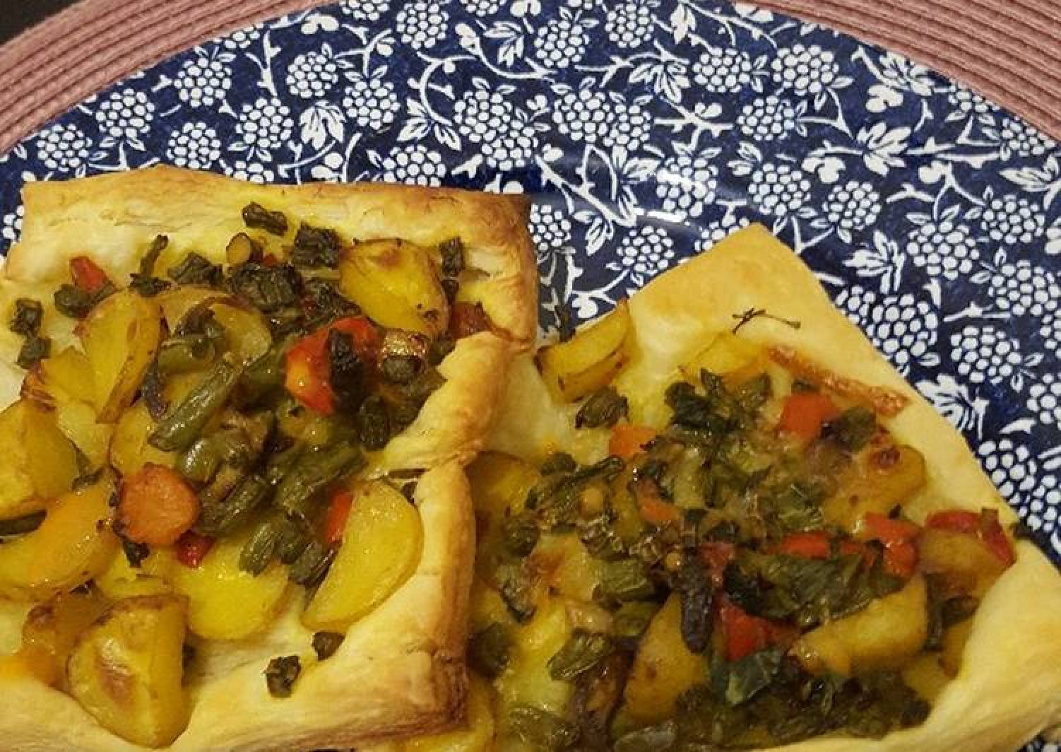 Mix veg puff pastry