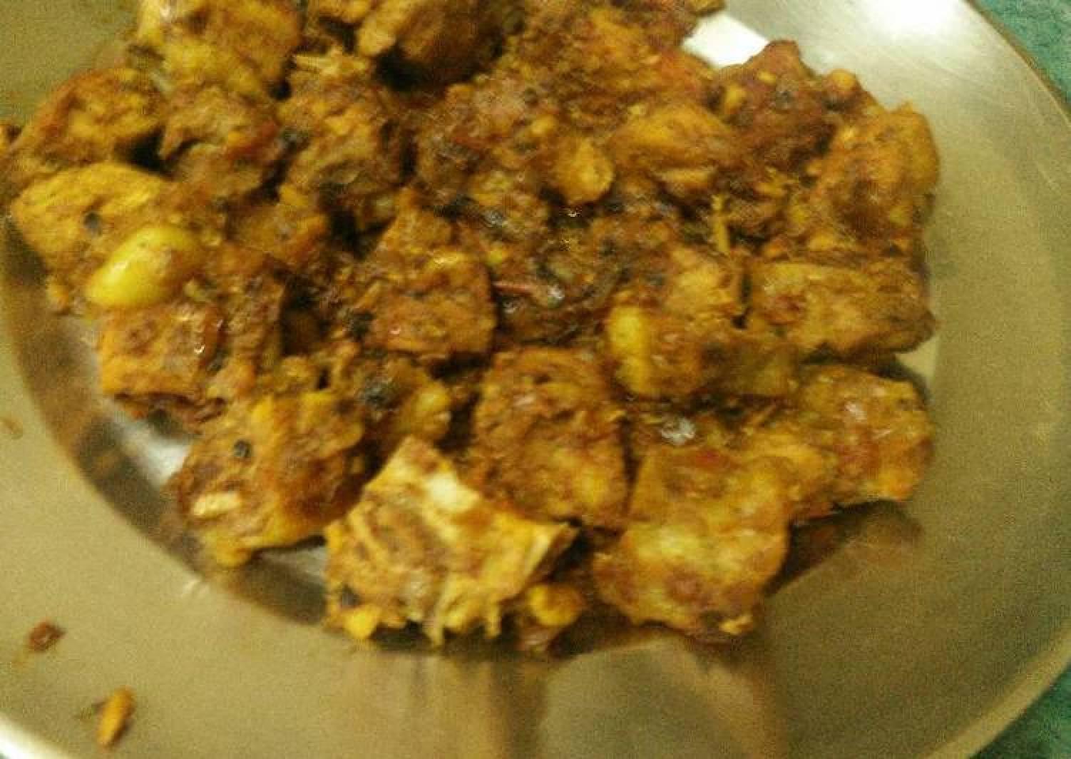 Spicy Pork Chop cuts