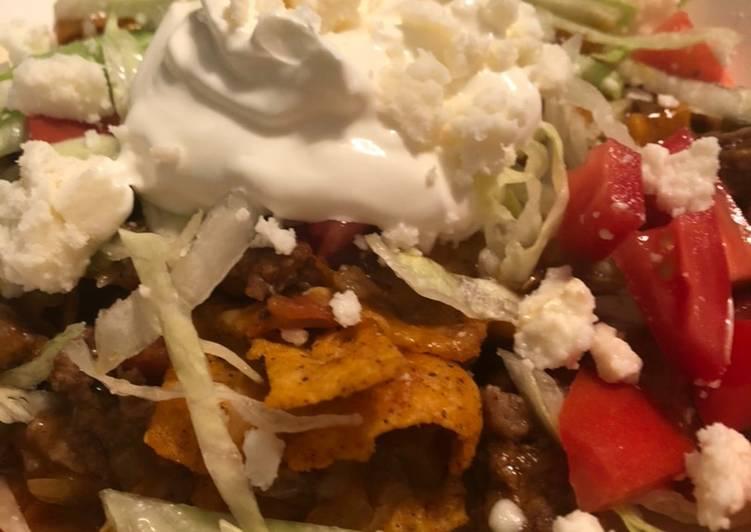 Taco Salad Bake