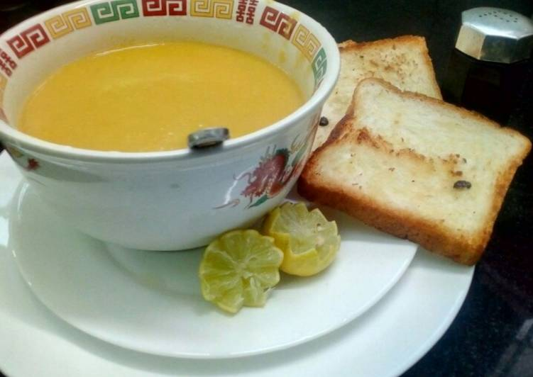 Healthy Chicken Mixed Vegetables Soup