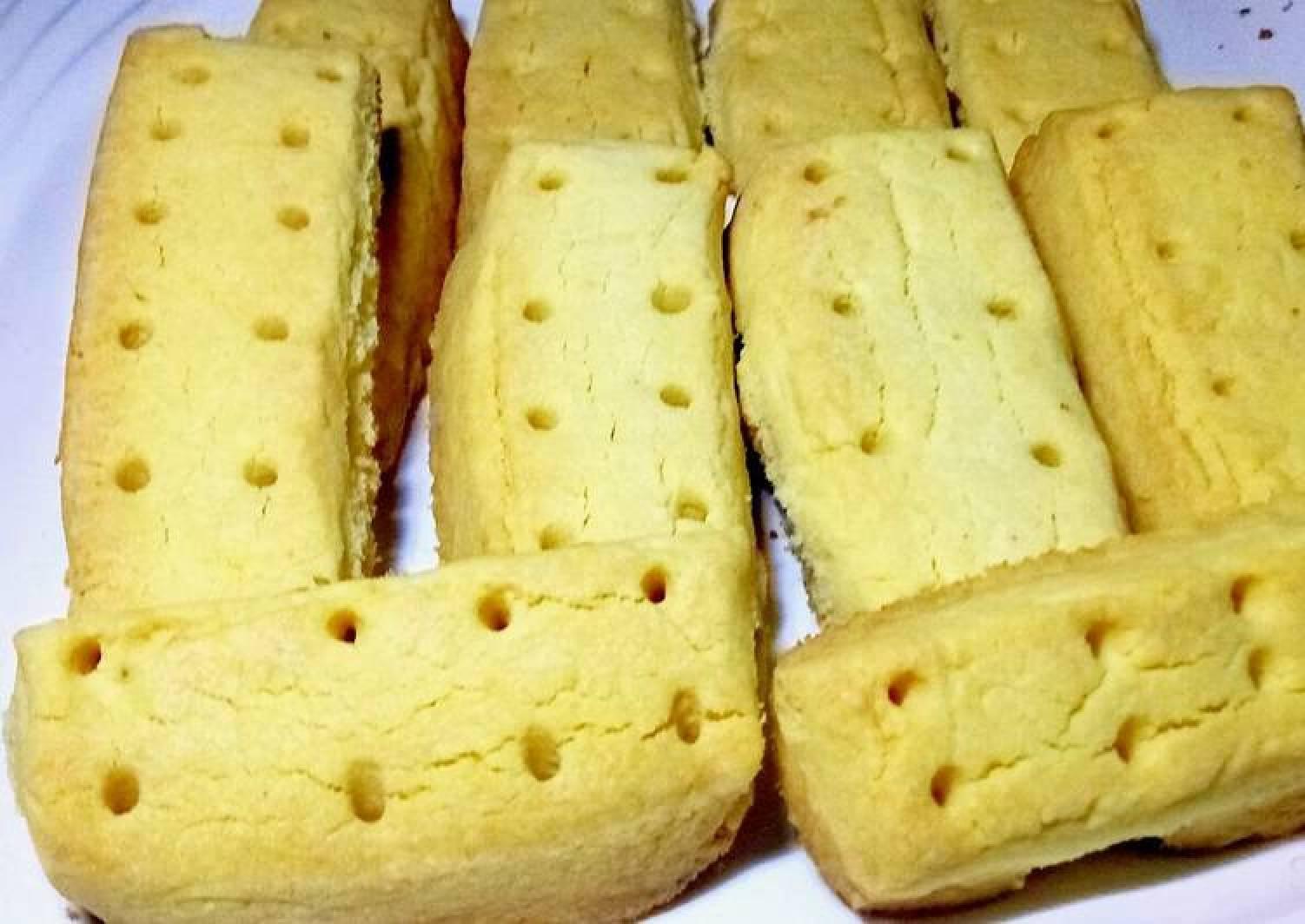 Milky Shortbread