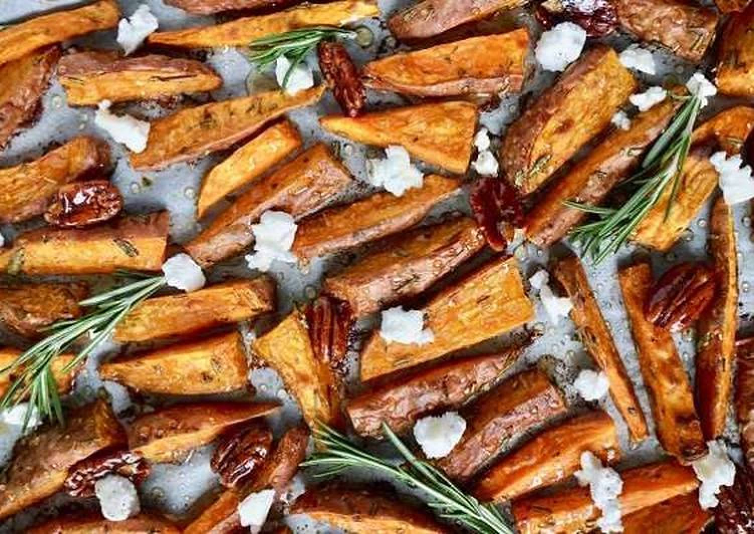 Flavorful Sweet Potato Wedges