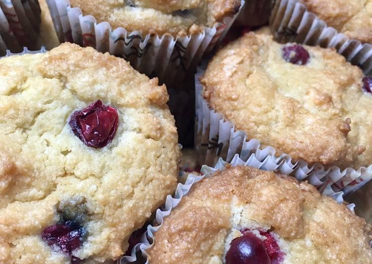 Keto friendly Cranberry muffins