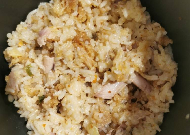 Nasi Ayam KFC enakkk 😍