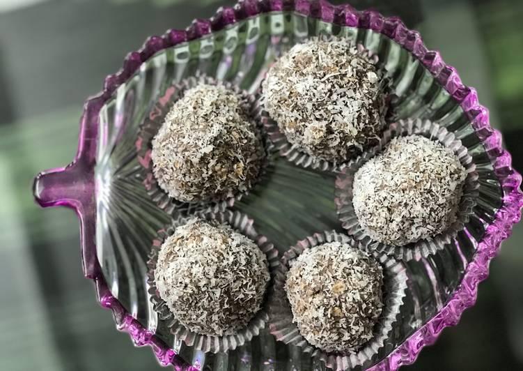 No Bake - Oatmeal Energy Balls