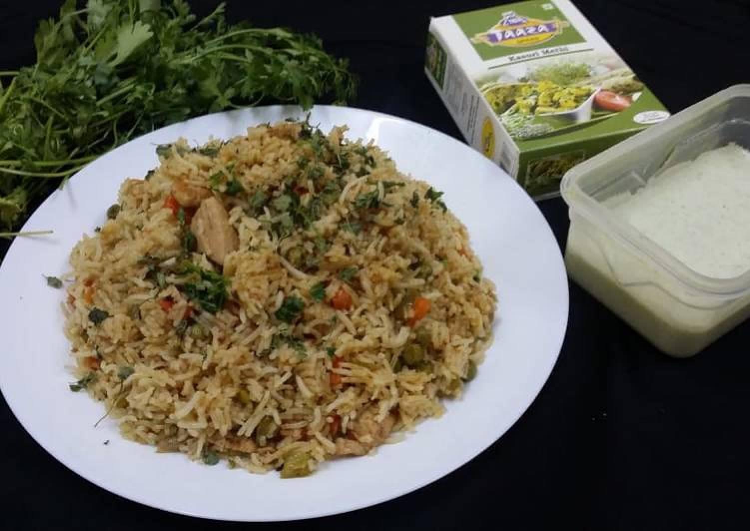 Chicken and Kasuri Methi Fried Rice
