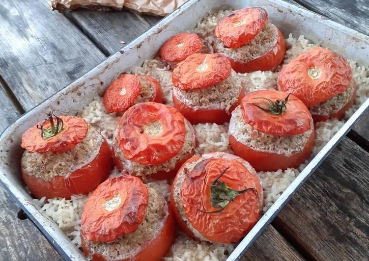 Les tomates farcies, plat familial, sain et gourmand !