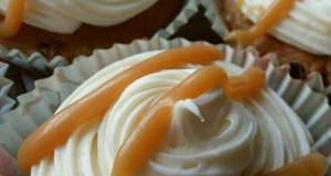 Vickys Banana Butterscotch Cupcakes GF DF EF SF NF
