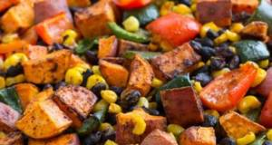 Vickys Mexican-Style Sweet Potato Salad with Honey Mustard Dressing Gluten Dairy Egg Soy  Nut-Free