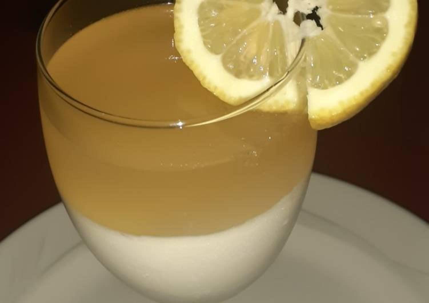 Panacotta and Lemon jelly 🍋