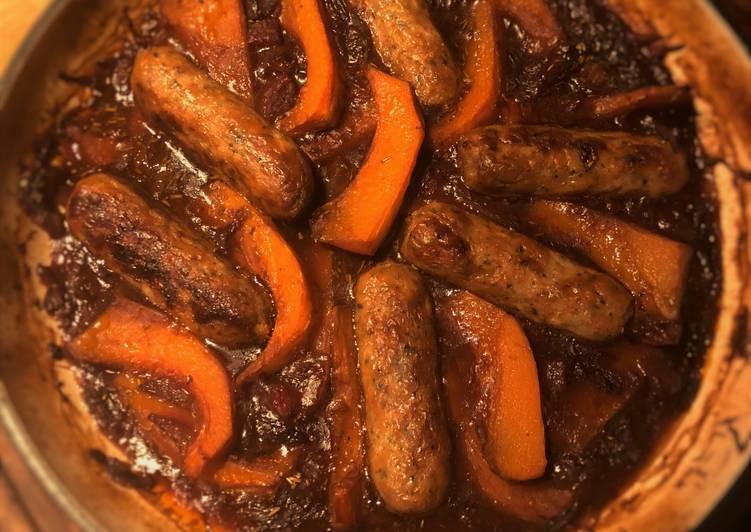 Quick Sausage Casserole