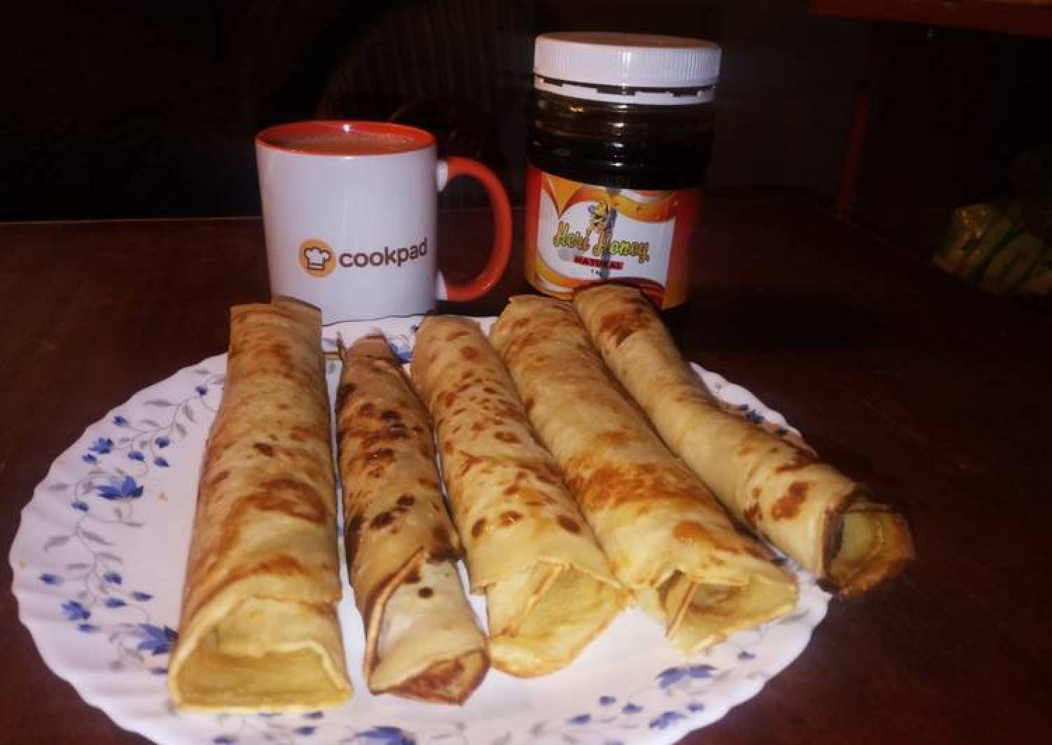 Margarine crepes