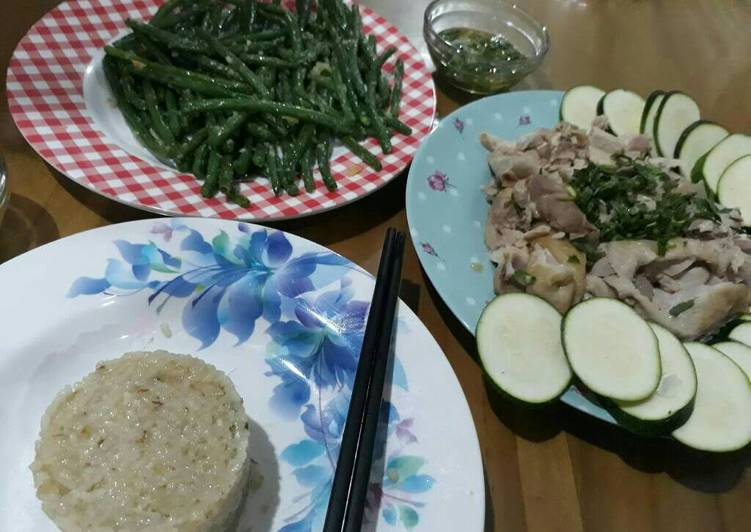 How to Prepare Favorite Hainan chicken rice