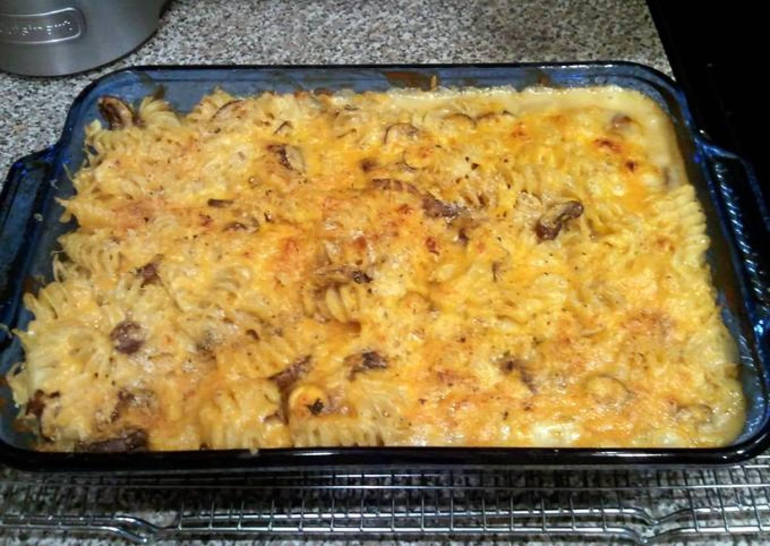 Dickeyd' s cheesy tuna casserole
