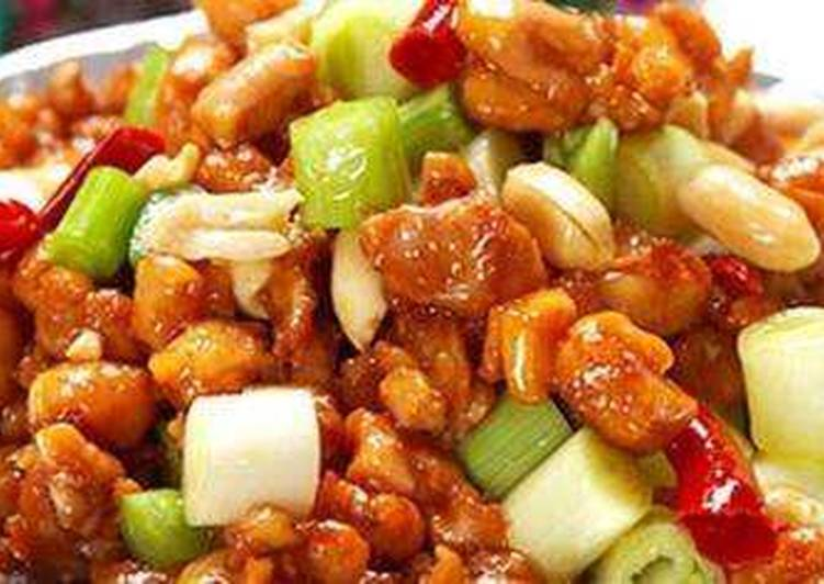 Make a Kung Pao chicken superfood look over here