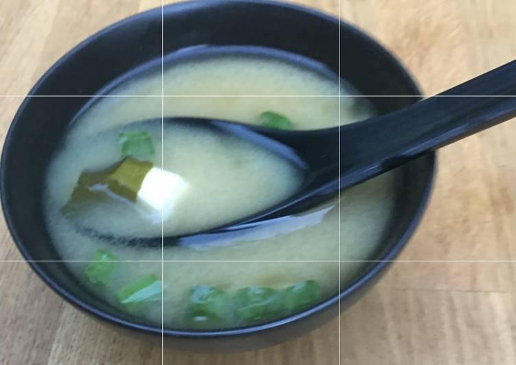 Recipe of Favorite Miso Soup