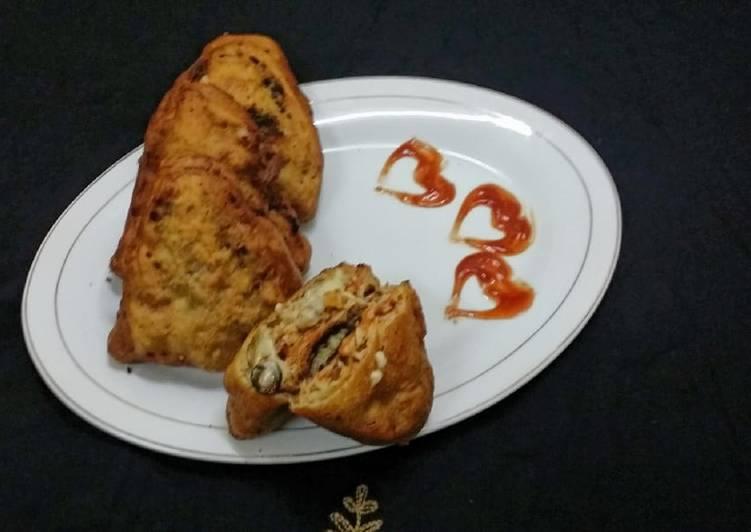 Fried Bread Pizza