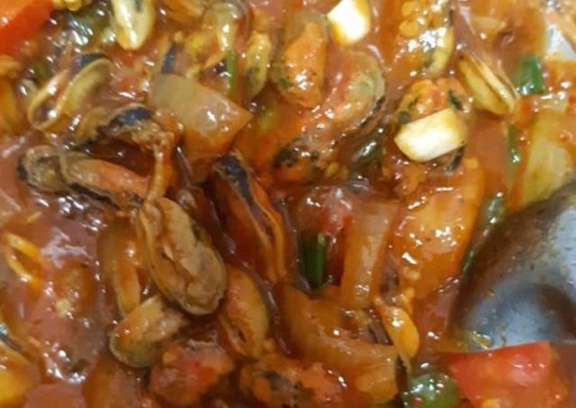 Kerang saus padang ala tenda seafood (anti gagal)